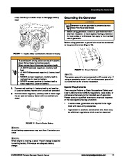 Honeywell HW5500 HW5500E Generator Owners Manual page 17