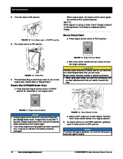 Honeywell HW5500 HW5500E Generator Owners Manual page 22