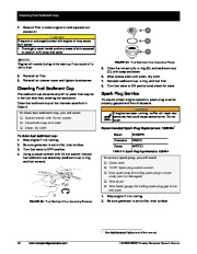 Honeywell HW5500 HW5500E Generator Owners Manual page 30
