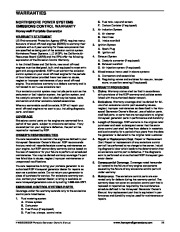 Honeywell HW5500 HW5500E Generator Owners Manual page 39