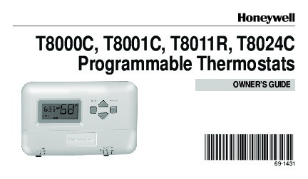 honeywell programmable thermostats t8000c t8001c t8011r t8024c rh home appliance filemanual com honeywell thermostat 8000 user manual honeywell thermostat owners manual rth221b1021