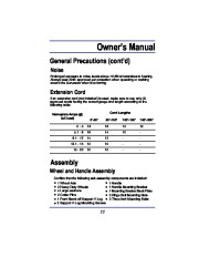 All Power America 8000 APG3005 Generator Owners Manual page 11