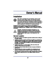 All Power America 8000 APG3005 Generator Owners Manual page 13