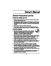 All Power America 8000 APG3005 Generator Owners Manual page 7
