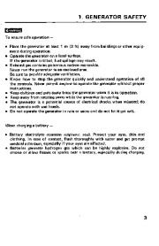 Honda Generator EM1600X EM1800X EM2200X Owners Manual page 5