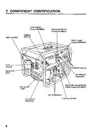 Honda Generator EM1600X EM1800X EM2200X Owners Manual page 6