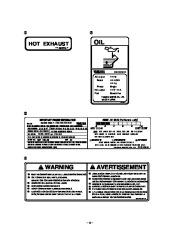 Yamaha EF3000iSE EF3000iSEB Generator Owners Manual page 9