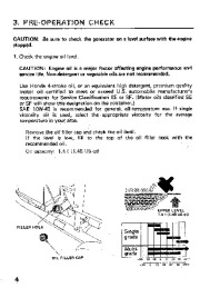Honda Generator ES6500 EL5000 Owners Manual page 6